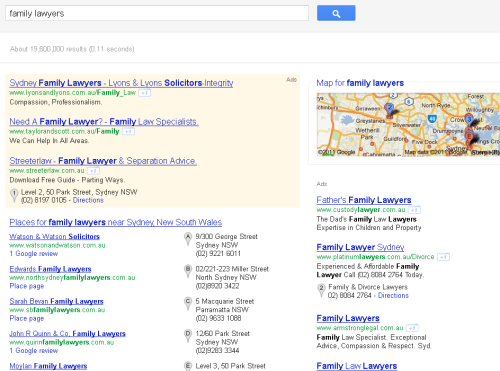 Google Serps Nov11