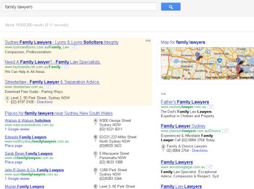 Google Serps Nov11