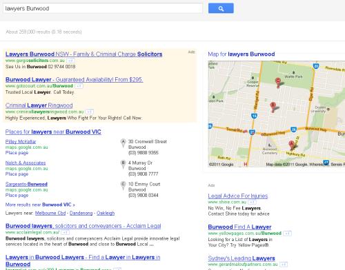 More Google Layouts